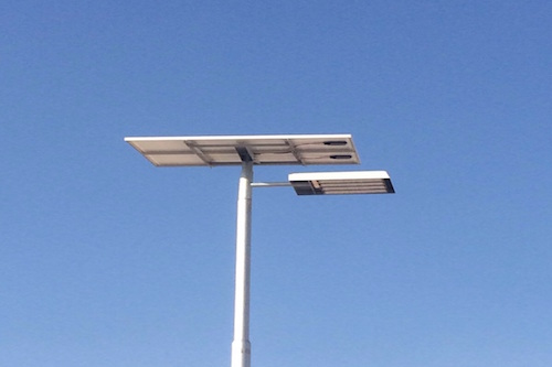 Solar Lights for Kahramaa reservoir stations