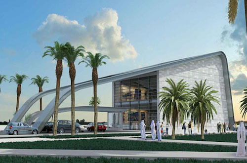 Lusail VIP Access Building solar energy