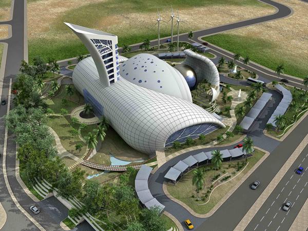 Kahramaa Awareness Park renewable energy