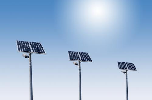 Solar Lights for Kahramaa reservoir stations