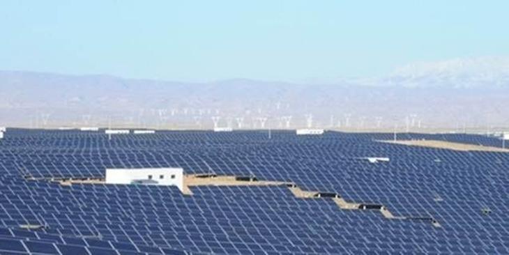 4. Longyangxia Dam Solar Park – 329 MW